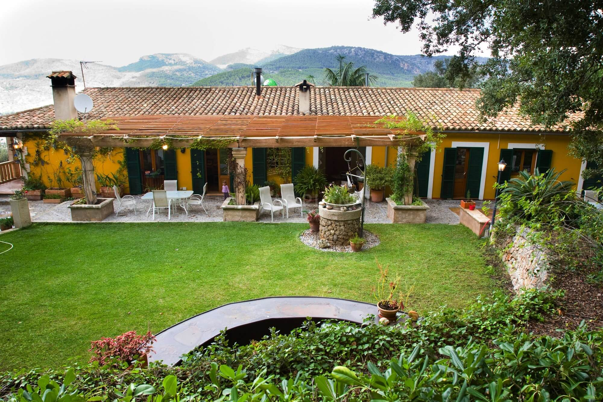 Country house with pool and garden with lawn in Esporles - 5328V ...
